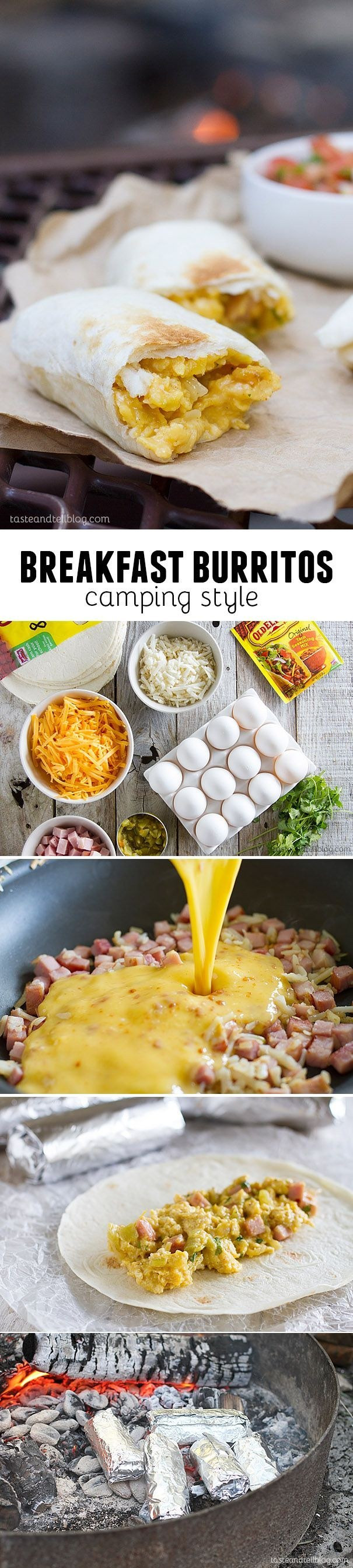 Breakfast Burritos For Camping  18 Breakfast Burritos Worth Waking Up For You Be Fit
