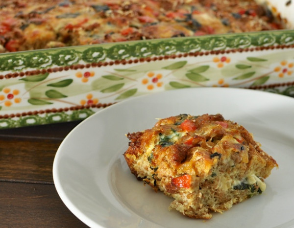 Breakfast Casserole Healthy  Delicious AND Healthy Breakfast Casserole Homemade Mommy