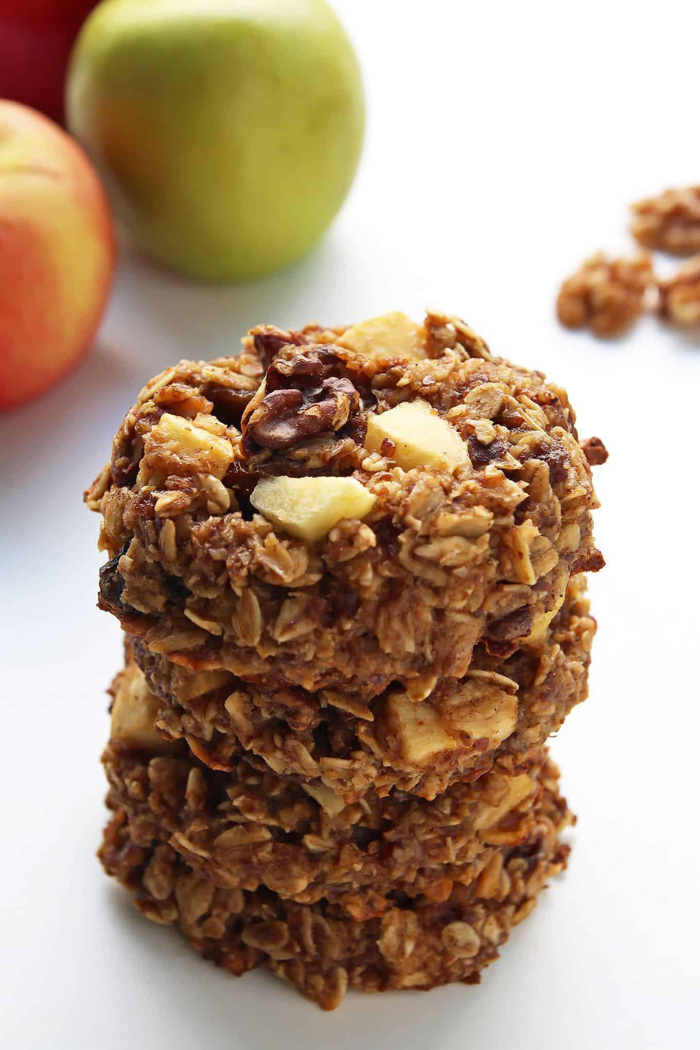 Breakfast Cookie Recipe Healthy  Healthy Apple Pie Breakfast Cookies Leelalicious