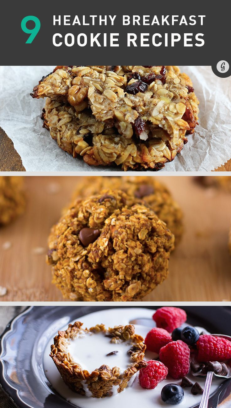 Breakfast Cookie Recipe Healthy  91 best images about Healthy on Pinterest