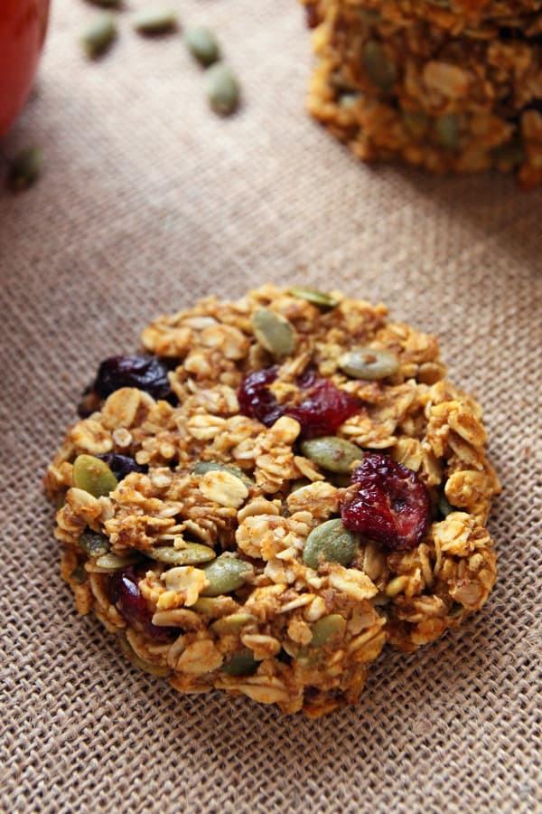 Breakfast Cookie Recipe Healthy  Pumpkin Breakfast Cookies gluten free clean eating