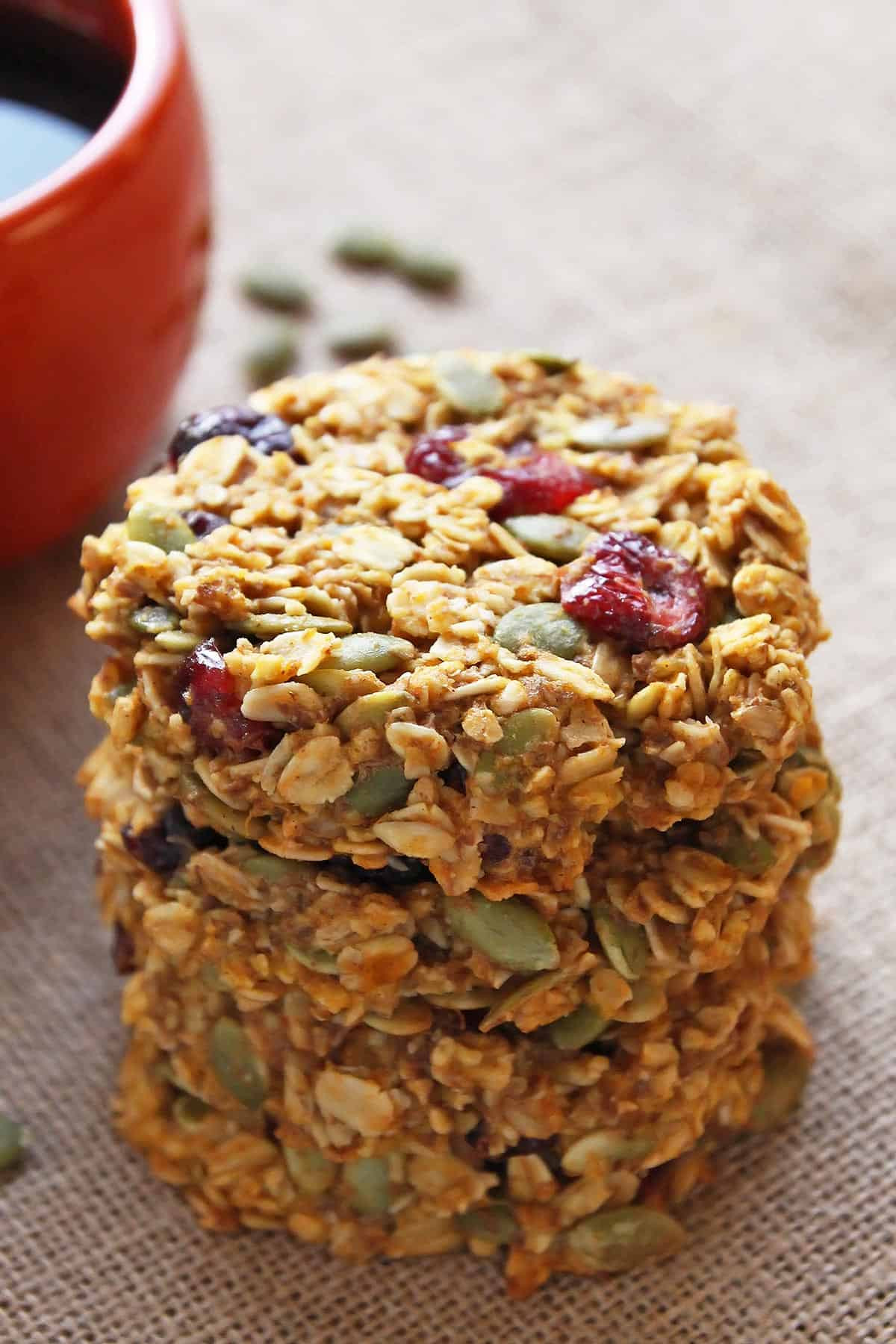 Breakfast Cookie Recipe Healthy  healthy breakfast cookies and bars