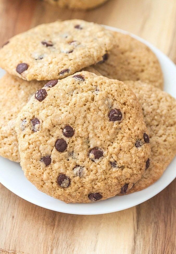 Breakfast Cookie Recipe Healthy  Healthy Oatmeal Chocolate Chip Breakfast Cookies