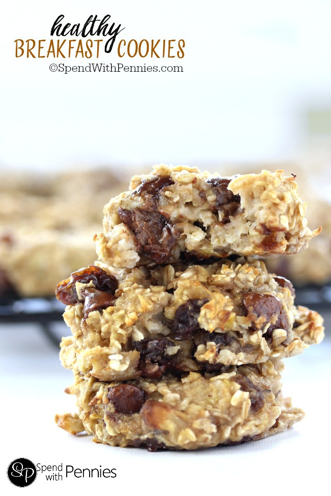 Breakfast Cookies Healthy  healthy breakfast cookies and bars