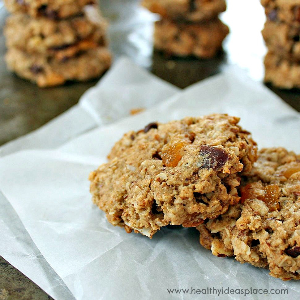 Breakfast Cookies Healthy  Breakfast Cookies with Apricots and Dates Healthy Ideas