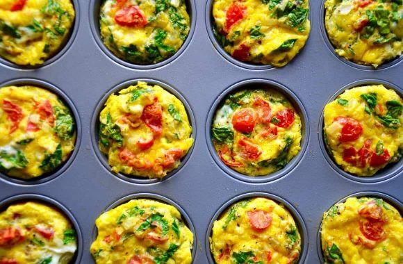 Breakfast Egg Muffins Healthy  Healthy Breakfast Egg Muffins