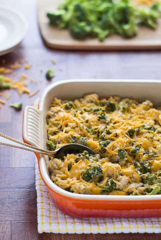 Broccoli Casserole Healthy  Chicken Broccoli Rice Casserole