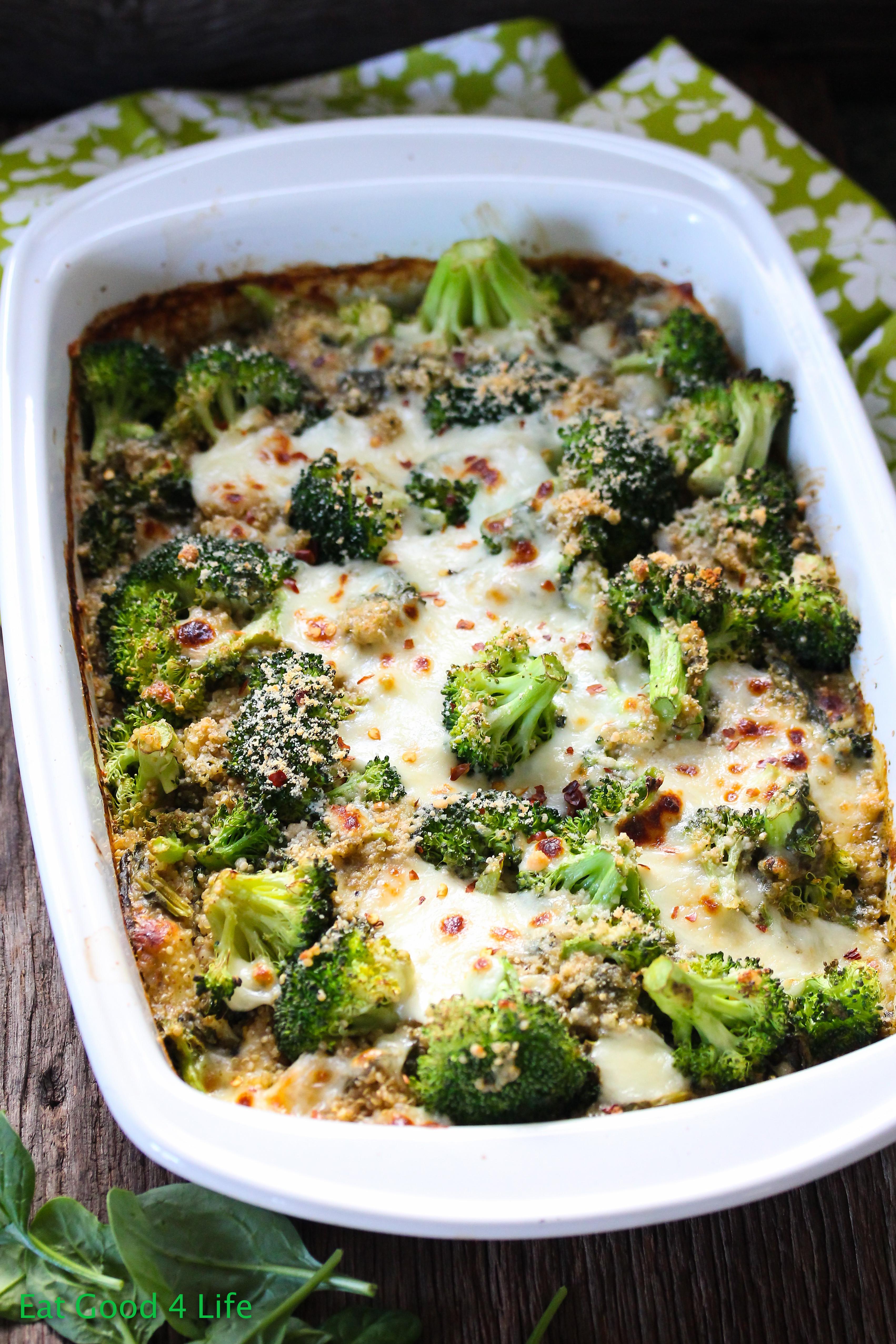 Broccoli Casserole Healthy  Broccoli quinoa casserole
