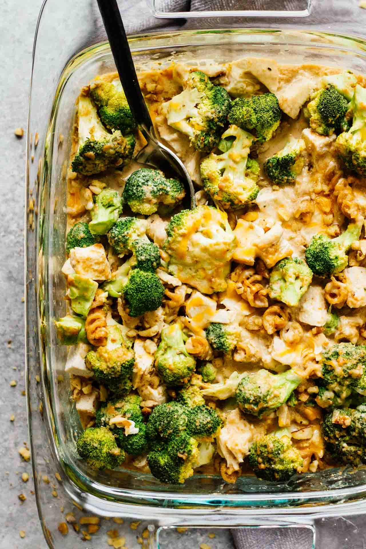 Broccoli Chicken Casserole Healthy  Healthy Chicken Broccoli Pasta Casserole Jar Lemons