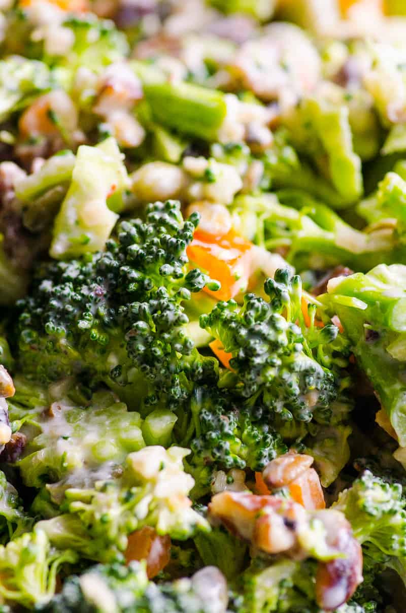 Broccoli Salad Healthy  Healthy Broccoli Salad iFOODreal Healthy Family Recipes