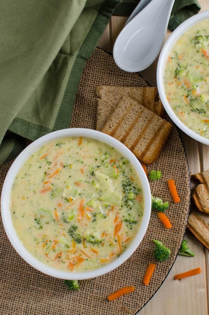 Broccoli Soup Healthy  A Must Try Creamy Dreamy & Healthy Broccoli Soup