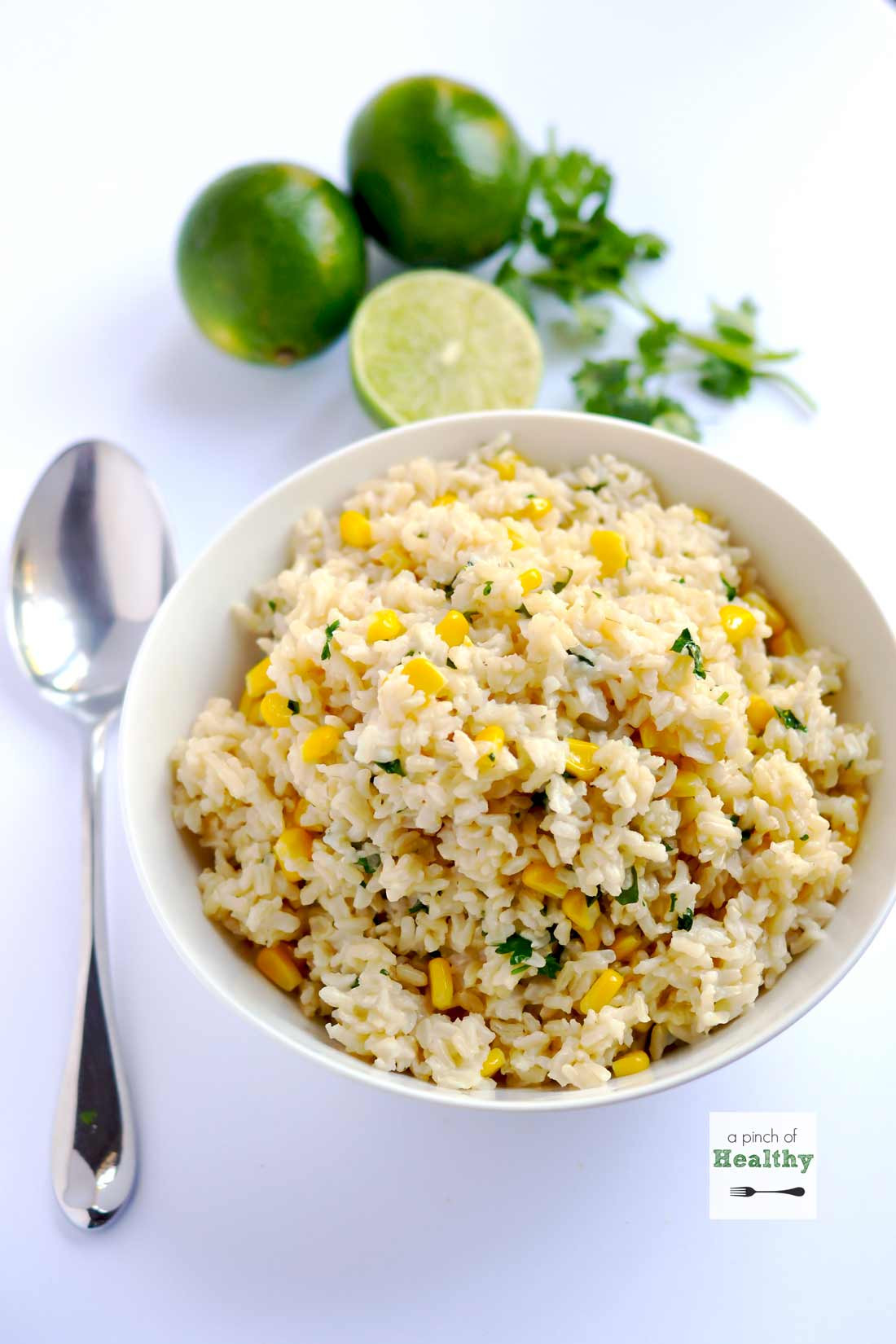 Brown Rice Healthy  Cilantro Lime Brown Rice A Pinch of Healthy