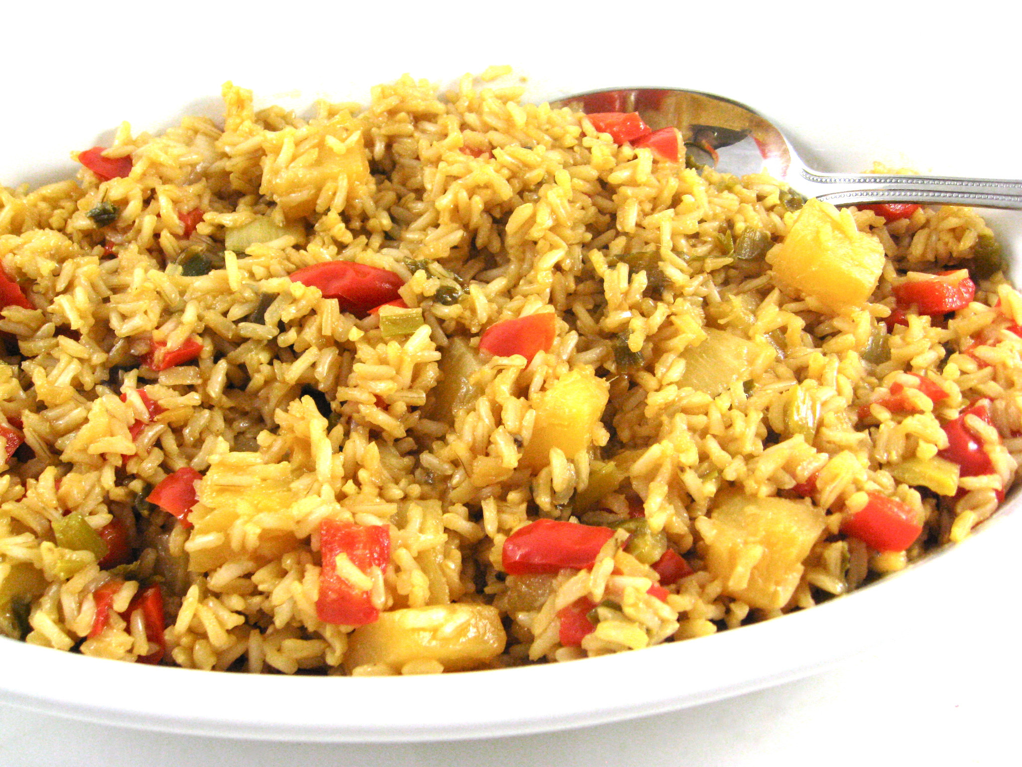 Brown Rice Healthy  Simple to Make and Very Healthy Pineapple Brown Rice with