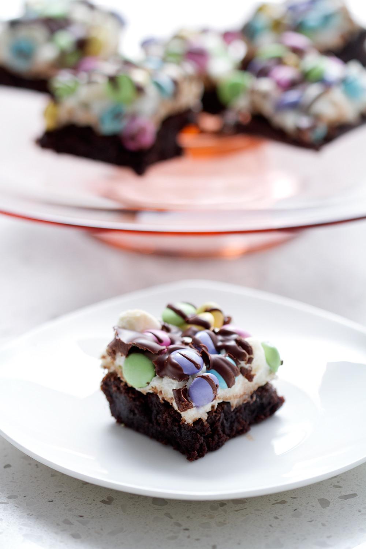 Brownie Easter Desserts  EASTER PASTEL BROWNIE DESSERT RECIPE