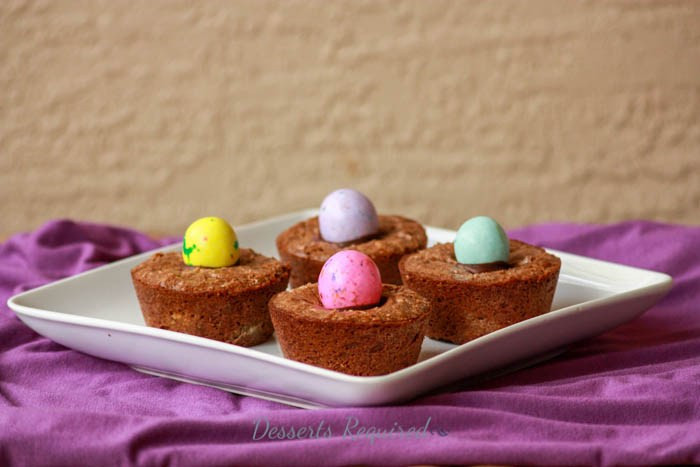 Brownie Easter Desserts  Gooey Easter Brownie Cups Desserts Required