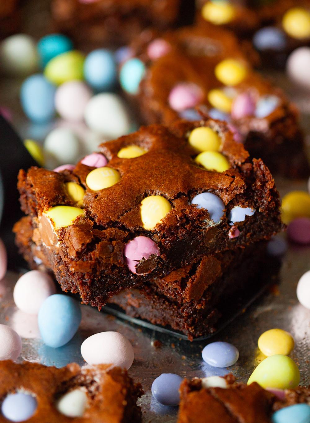 Brownie Easter Desserts  Easter Brownies