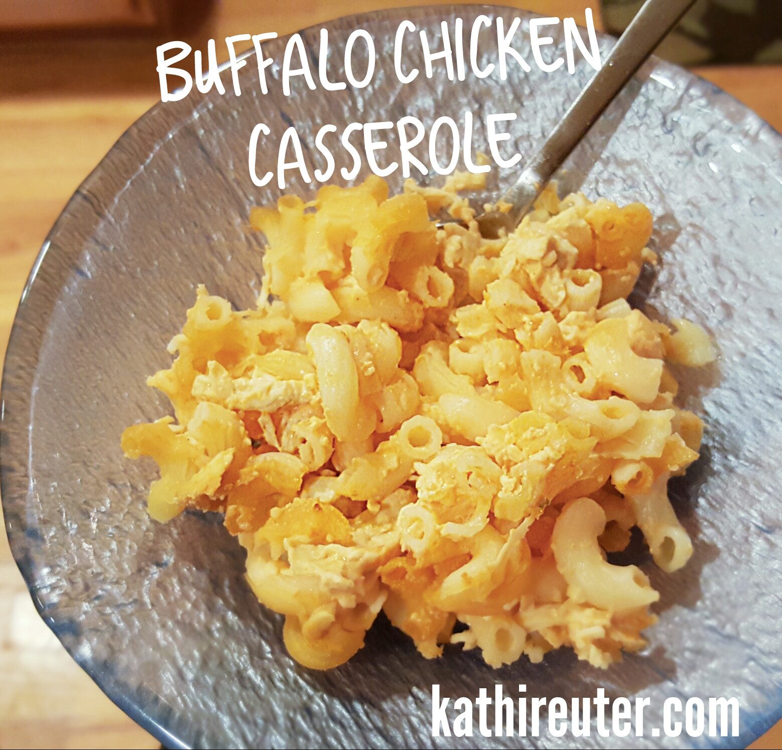 Buffalo Chicken Casserole Healthy  Healthy Buffalo Chicken Casserole