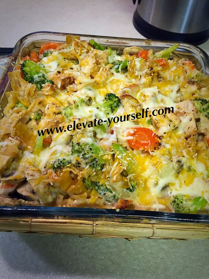 Buffalo Chicken Casserole Healthy  21 Day Fix Approved Buffalo Chicken Veggie Bake Casserole