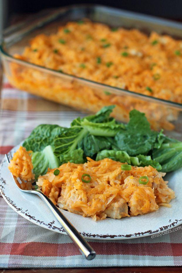 Buffalo Chicken Casserole Healthy  healthy potato bake