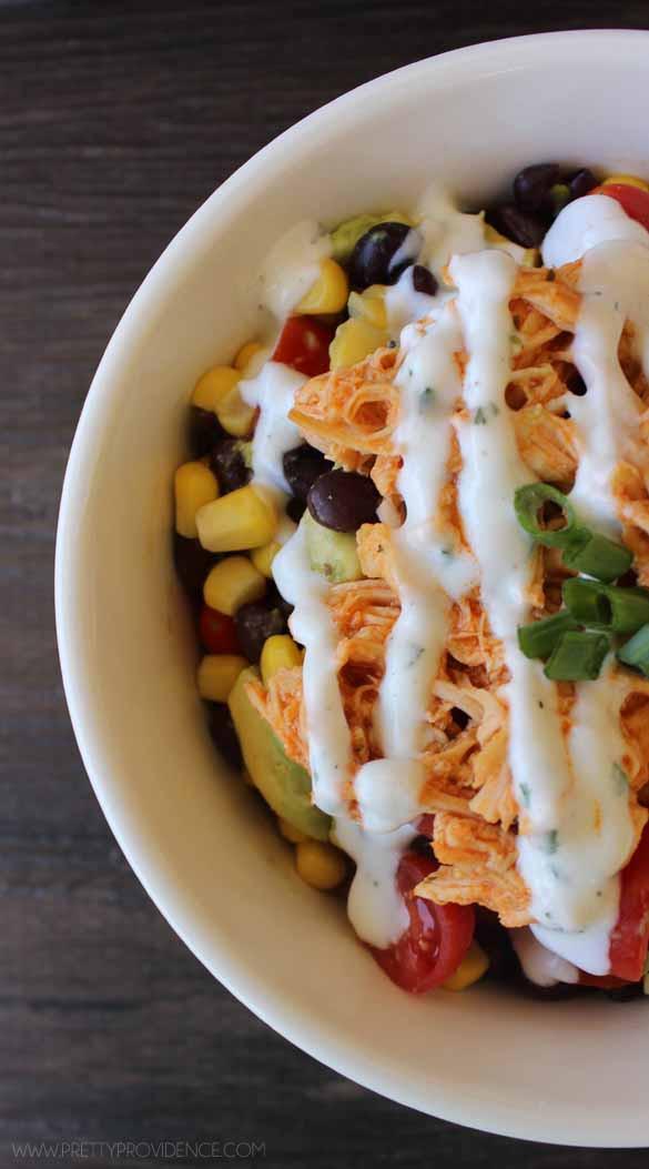 Buffalo Chicken Recipes Healthy  Healthy Buffalo Chicken Bowls