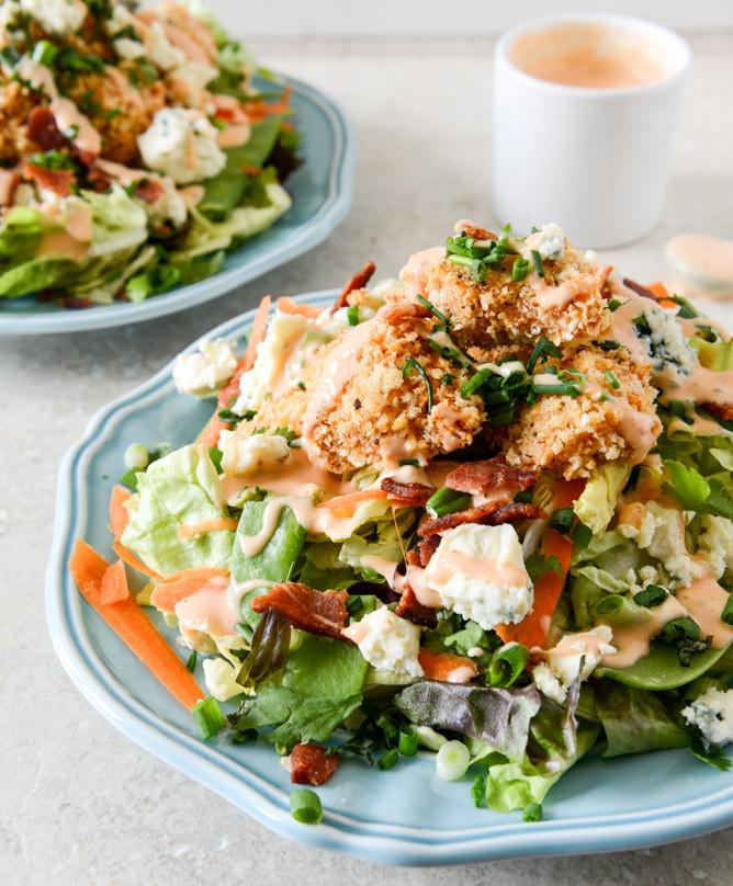 Buffalo Chicken Recipes Healthy  healthy buffalo chicken salad