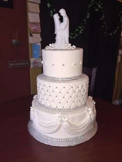 Buffalo Wedding Cakes  Caramici s Bakery Wedding Cake Amherst NY WeddingWire