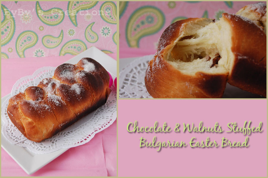 Bulgarian Easter Bread  Byby s Kingdom 2 Weeks of Easter Fun Day 6 Chocolate