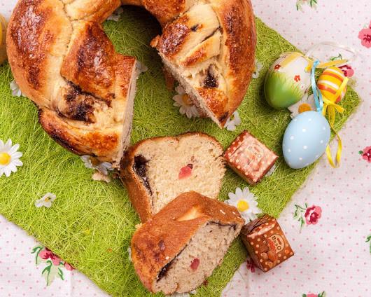 Bulgarian Easter Bread  Bulgarian easter bread