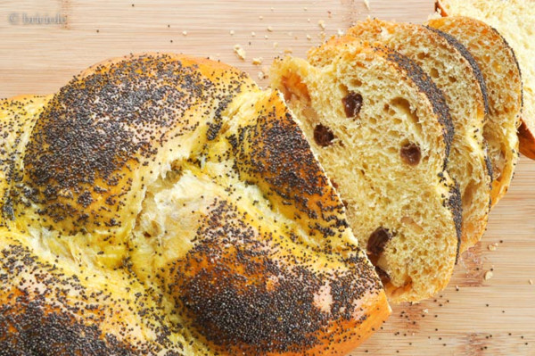Bulgarian Easter Bread  pane di Pasqua bulgaro Bulgarian Easter bread briciole