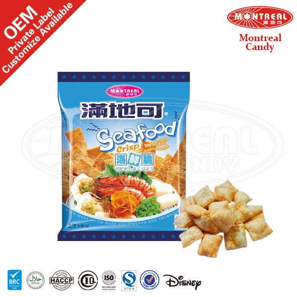 Bulk Healthy Snacks  Healthy Halal Wholesale Snacks With Seafood Flavor Buy