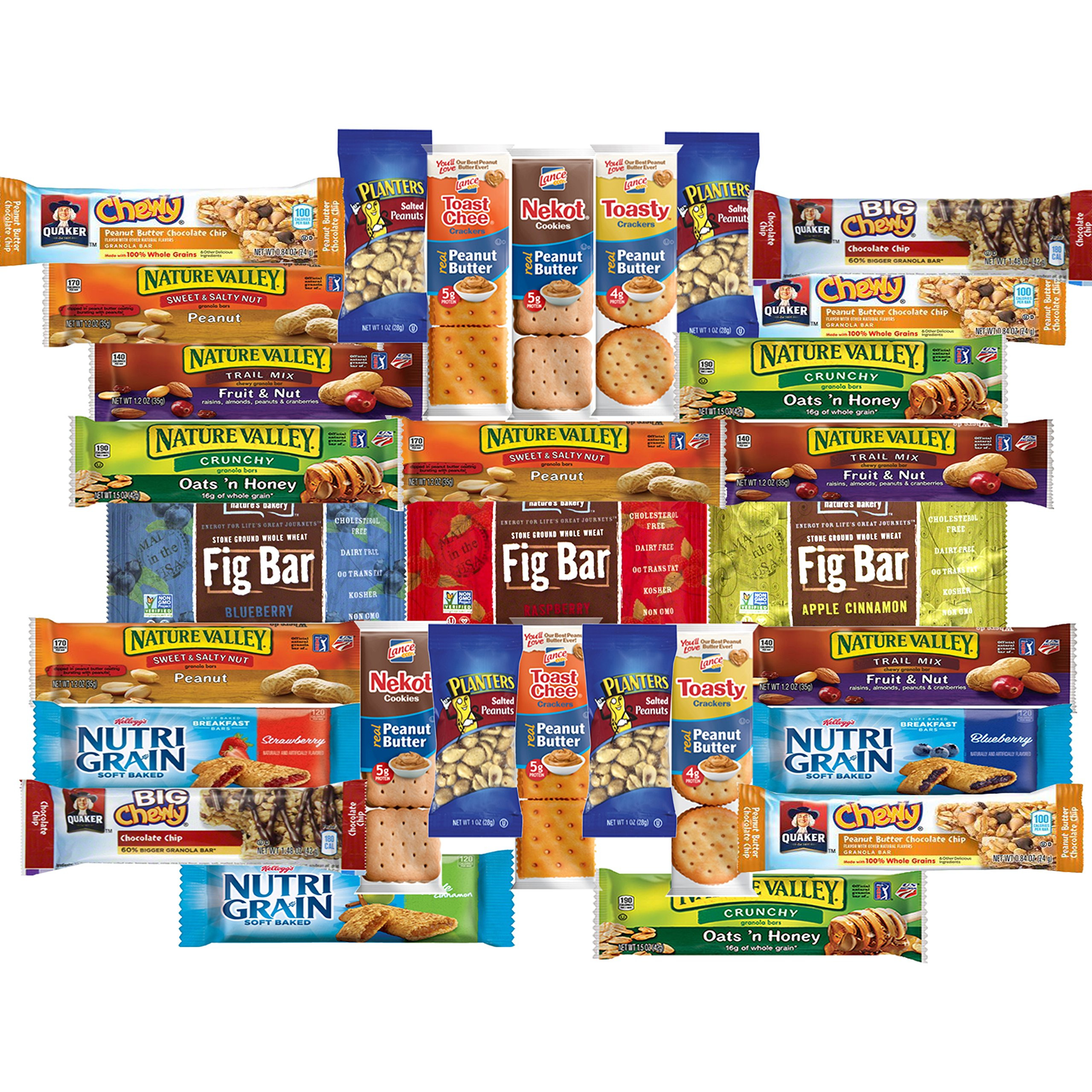 Bulk Healthy Snacks  Amazon Cookies Chips & Can s Snacks Variety Pack
