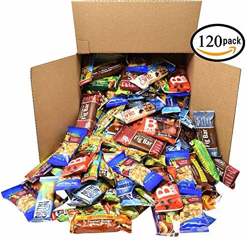 Bulk Healthy Snacks  Healthy Snacks and Bars Variety Pack Gift Snack – hinedo