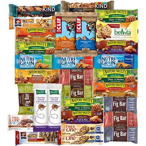 Bulk Healthy Snacks  Healthy Bars & Snacks Present Care Package Bulk Selection
