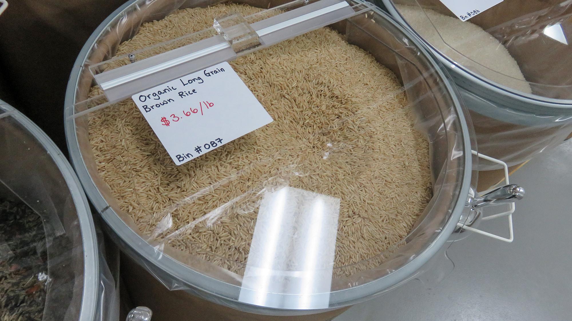 Bulk Organic Brown Rice  Dec 23 2016 – $3 66 LB for Organic Long Grain Brown Rice
