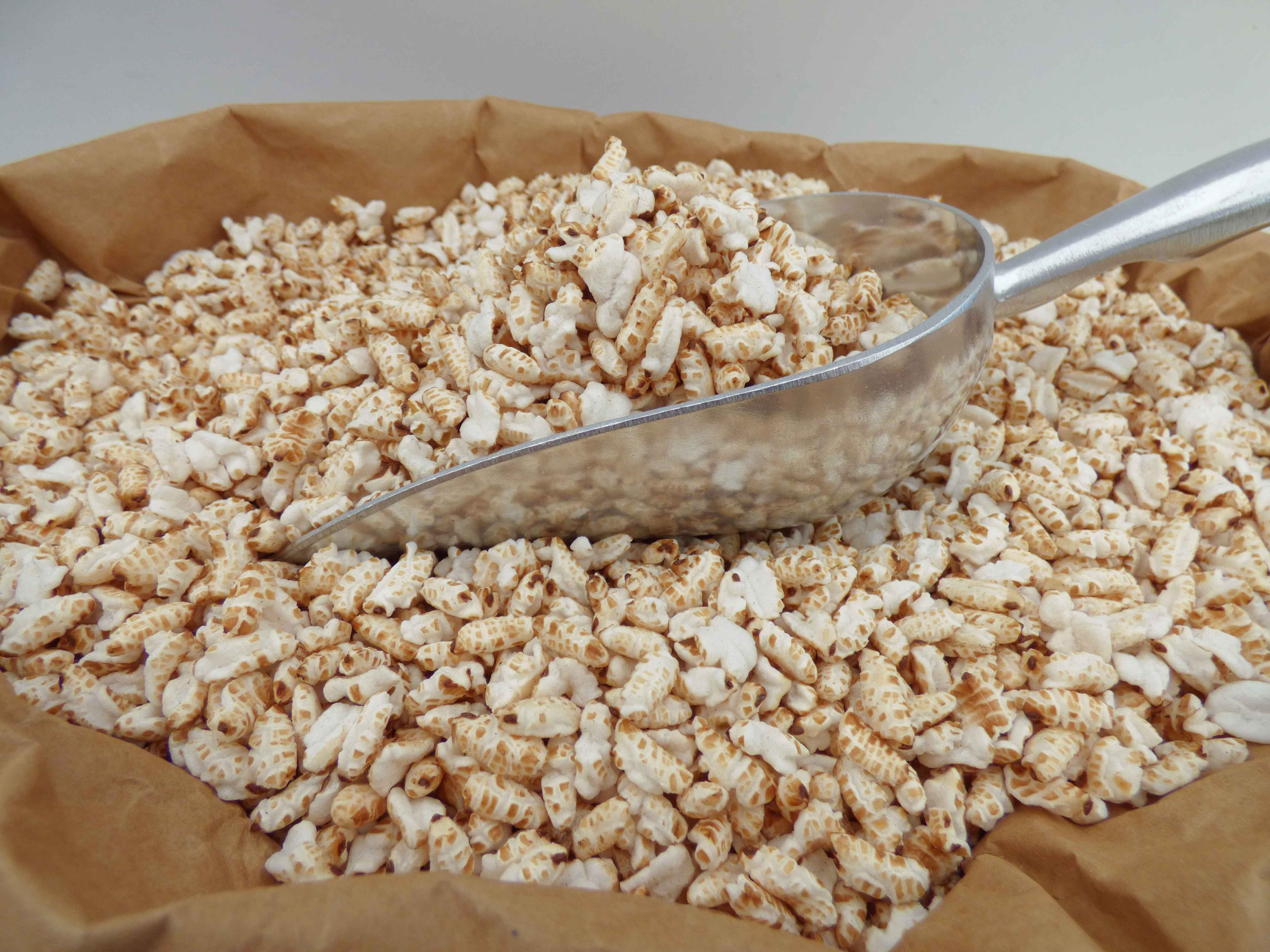 Bulk Organic Brown Rice  Organic Puffed Brown Rice 100kg Bulk Cereal Manufacturer