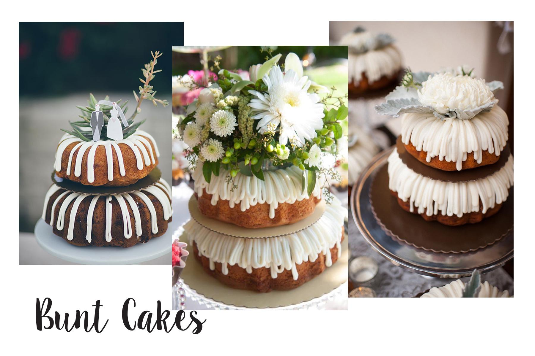 Bundt Wedding Cake  5 Summer Wedding Cake Trends