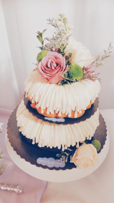 Bundt Wedding Cake  Bundt Wedding Cakes Nothing Bundt Cakes Wedding Cake