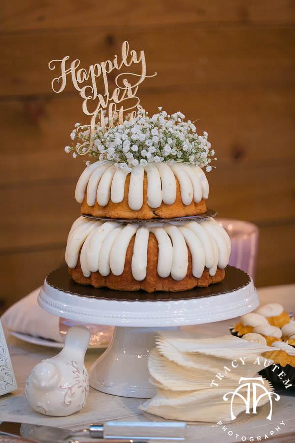 Bundt Wedding Cake  Kim & John – Wedding Ceremony & Reception at Classic Oaks