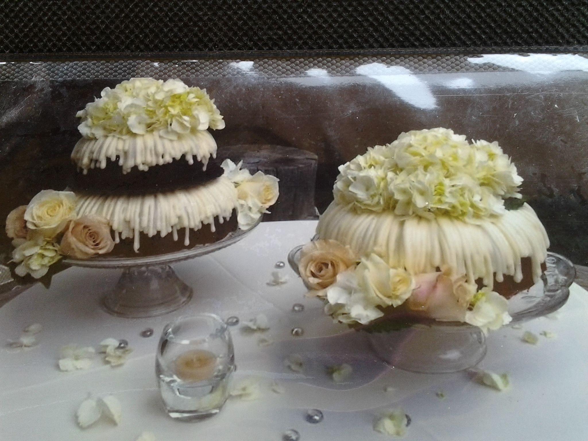 Bundt Wedding Cake  bundt cake wedding Wedding Pinterest