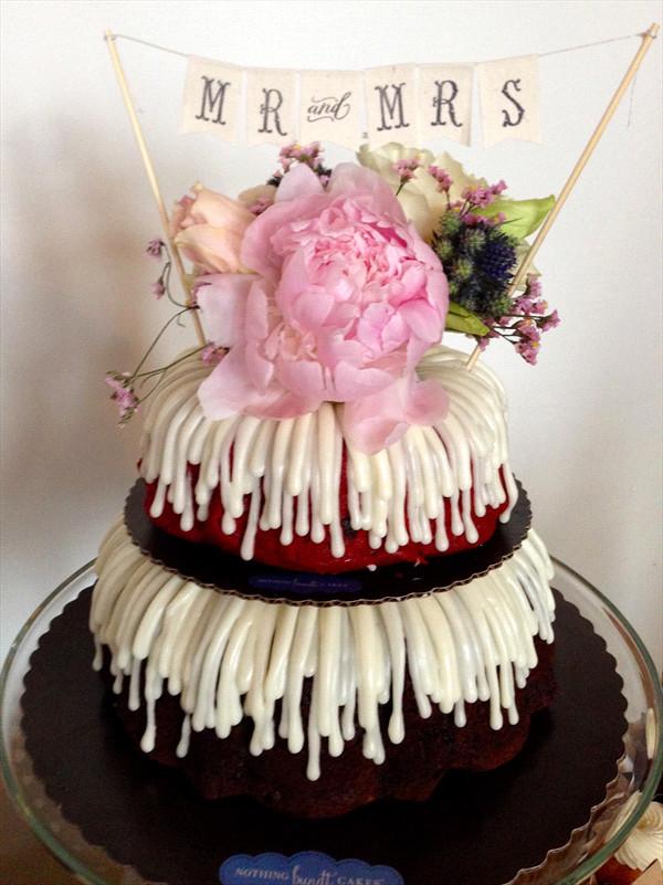 Bundt Wedding Cake  Nothing Bundt Cakes s Wedding Cakes