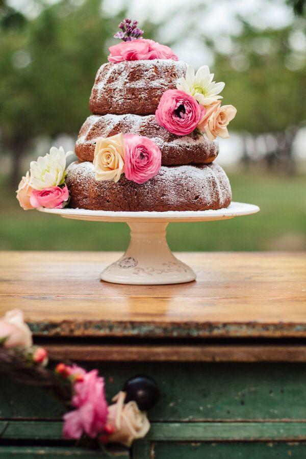 Bundt Wedding Cake  25 Best Ideas about Homemade Wedding Cakes on Pinterest
