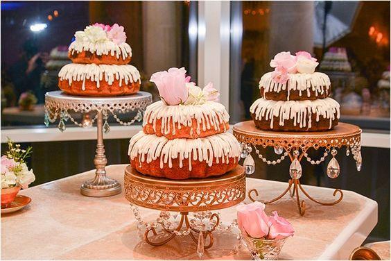 Bundt Wedding Cake  SWANKY SOIREE EVENTS Event Design & Wedding Planner