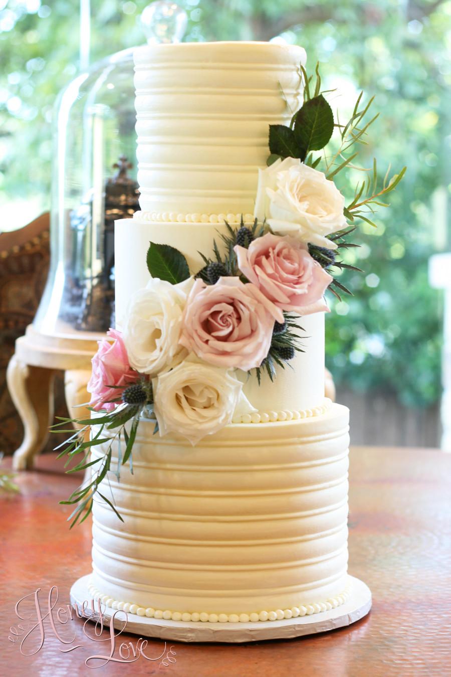 Buttercream Wedding Cakes  Wedding Cakes — HoneyLove Cakery