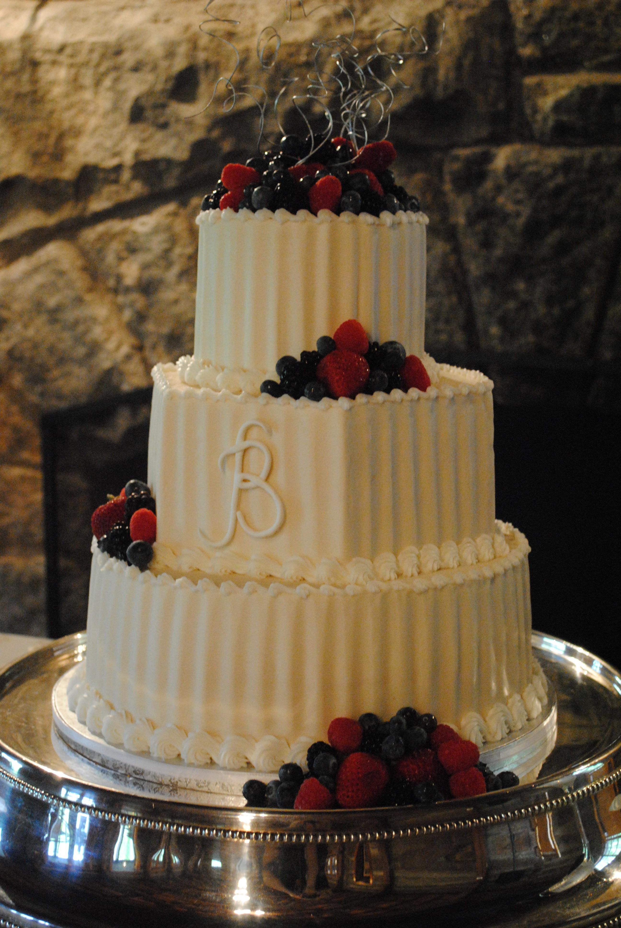 Buttercream Wedding Cakes  Buttercream Wedding Cake Options Kathy and pany Wedding