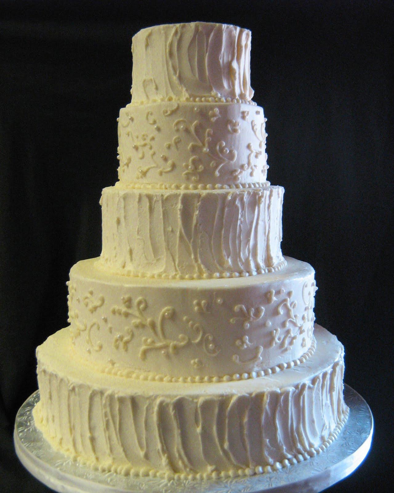 Buttercream Wedding Cakes  Sublime Bakery Rough Buttercream Wedding Cake