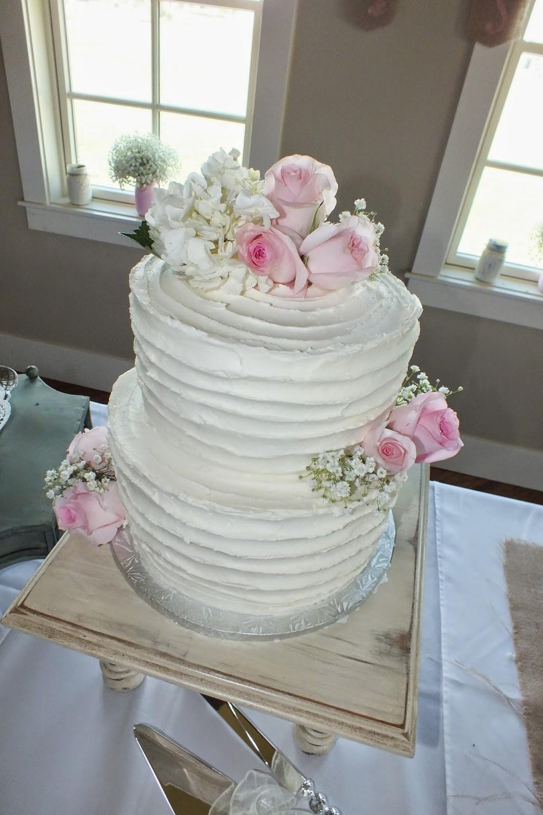 Buttercream Wedding Cakes  Sweet Bottom Cakes Textured Buttercream Wedding Cake