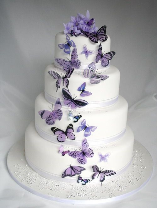 Butterfly Wedding Cakes  Butterfly Wedding Ideas That Will Make Your Heart Skip a Beat