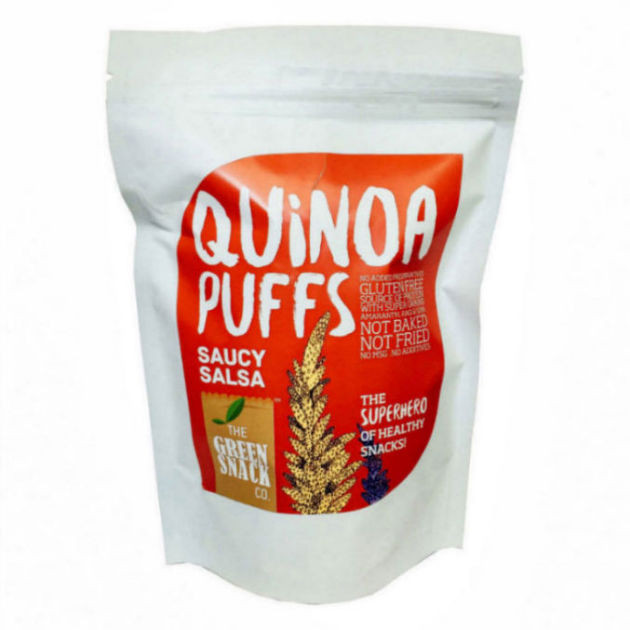 Buy Healthy Snacks Online  Buy Healthy Snacks line Order Saucy Salsa Quinoa Puffs