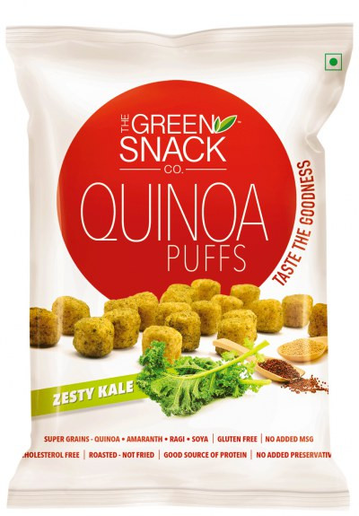 Buy Healthy Snacks Online  Buy Healthy Snacks line Order Zesty Kale Quinoa Puffs