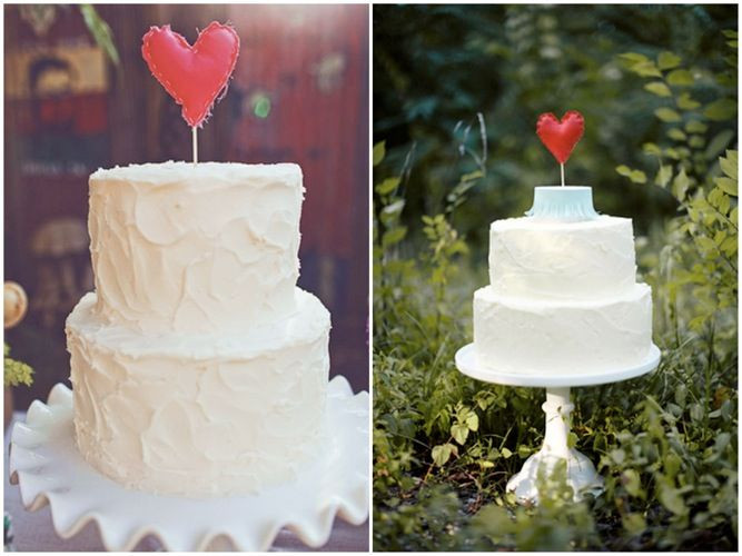 Buying Wedding Cakes  Heart Shaped Wedding Cake Toppers BUY or DIY